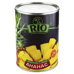 Ананасы Рио кусочками в сиропе 580мл Таиланд