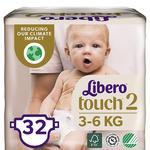 Libero Touch 2 Diapers 3-6kg 32pcs