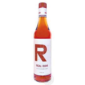 Ром Real Rum Gold 1л - купить, цены на Novus - фото 1