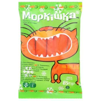 Carrot sticks Morkishka polished 85g - buy, prices for Metro - photo 1