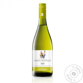 Shabo Young Dry White Wine 0,7l