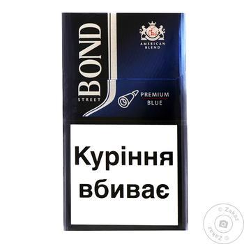 Сигареты Bond Street Premium Blue