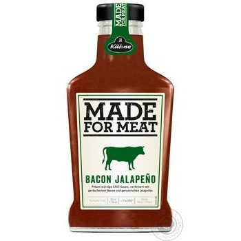 Kuhne Bacon Jalapeno for meat sauce 375ml