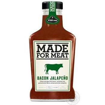 Соус Made For Meat Бэкон Халапеньо 375мл