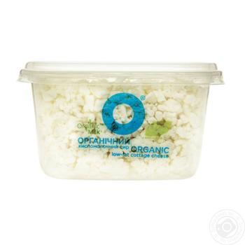 Сир кисломолочний Organic Milk нежирний 0,2% 300г - купити, ціни на Ашан - фото 2