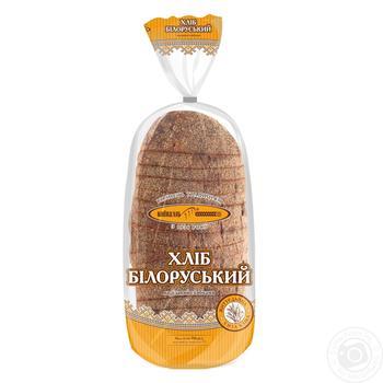 Хлеб КиевХлеб Белорусский ржаной нарезанный 700г - купить, цены на Novus - фото 3