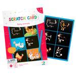Набор для творчества DoDo 300336 Гравюра мини Животные