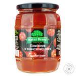Томати Natur Bravo у томатному соусі с/б 720мл - купити, ціни на Фуршет - фото 1