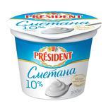 President Sour cream 10% 200g