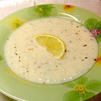 """Греческий суп """"Авголемоно"""""""