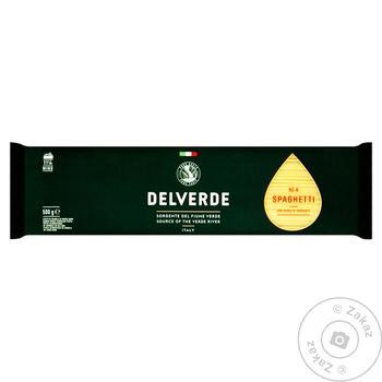 Макаронные изделия Delverde №4 Спагетти 500г