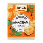 Сыр Высь Маасдам плавленый 55% 90г