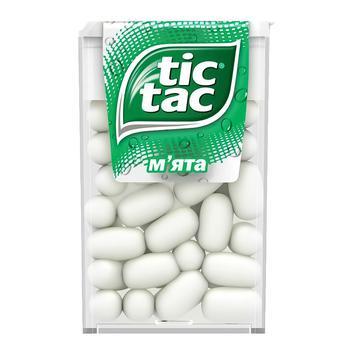 Драже Tic Tac зі смаком м'яти 16г