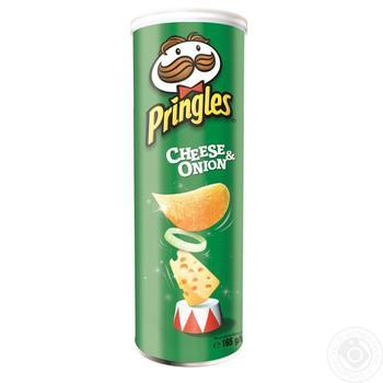 Чіпси Pringles Сир та цибуля 165г - купити, ціни на Фуршет - фото 2