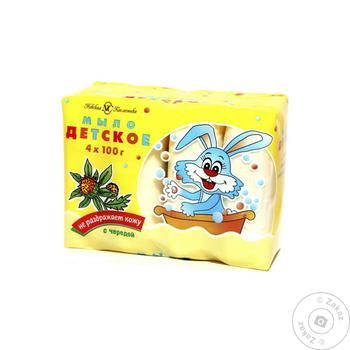 Nevskaya Cosmetica baby soap 4pcs 100g - buy, prices for Auchan - photo 1