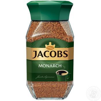 Кава Jacobs Монарх розчинна 190г - купити, ціни на Novus - фото 3
