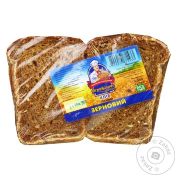 Bread Agrobisness rye-wheat cutting 340g - buy, prices for Auchan - image 1