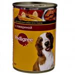 Food Pedigree with beef for dogs 400g can Austria