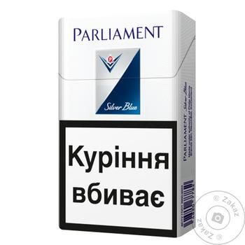 Parliament Silver Blue cigarettes - buy, prices for Novus - image 1