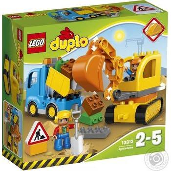 Конструктор Lego duplo Грузовик и гусеничный экскаватор 10812 - купить, цены на Novus - фото 1