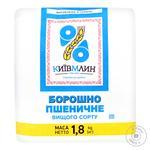 Мука пшеничная Киев Млин высшего сорта 1,8кг - купить, цены на Novus - фото 1