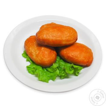Пиріжки смажені з капустою - купити, ціни на МегаМаркет - фото 1