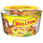Лапша Ролтон яичная с грибами быстрого приготовления 75г