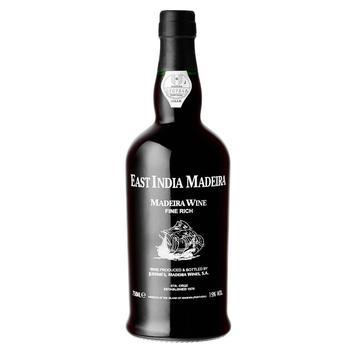 Est India Madeira Fine Dry біле солодке 19% 0.75л - купити, ціни на Ашан - фото 1