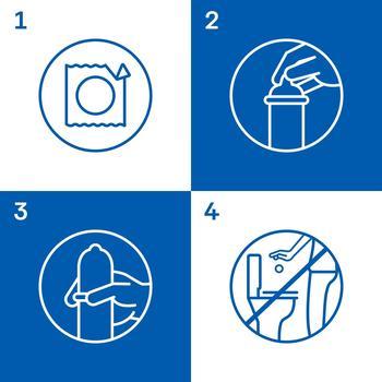 Durex Invisible Condoms 3pcs - buy, prices for MegaMarket - image 3