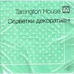 Салфетки Tarrington House Горошки 33*33 трехслойные 18шт