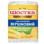 Сыр Шостка Сливочный плавленый 40% 90г