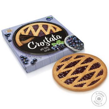 Пиріг пісочний Бісквіт Шоколад Сrostata Чорна смородина 370г - купити, ціни на ЕКО Маркет - фото 1