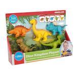 Набор игровой Kiddieland Динозаврики