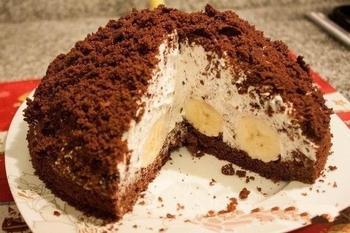 """Торт """"Норка крота"""""""