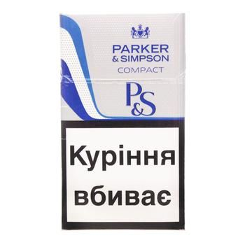 Parker&Simpson C-Line Blue Cigarettes - buy, prices for CityMarket - photo 1