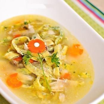 Итальянский суп из курицы