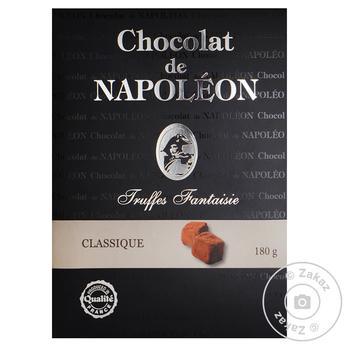 Конфеты Chocolat de Napoleon Французские трюфели Fantaisie классические 180г