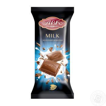 Шоколад молочный АВК 24% молока 90г - купить, цены на Novus - фото 2