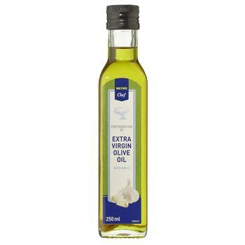 Масло оливковое Metro Chef Extra Virgin с чесноком 250мл