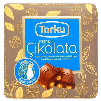 Chocolate milky Torku with hazelnuts bars 70g - buy, prices for CityMarket - photo 1
