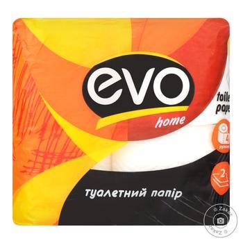Бумага туалетная Evo Home 2слоя 4шт