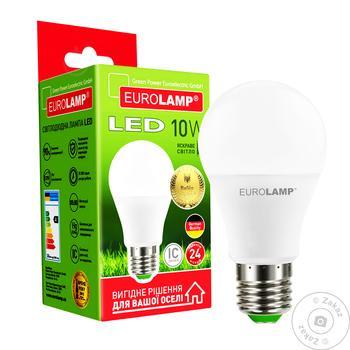 Лампа светодиодная Eurolamp LED A60 E27 10W 4000K - купить, цены на Ашан - фото 4