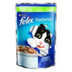 Корм Felix Fantastic С кроликом в желе для взрослых котов 100г