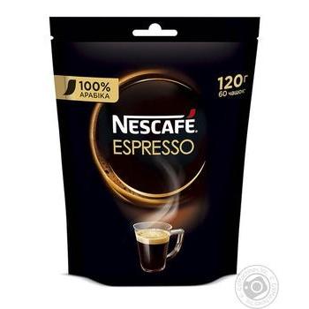 Кава Nescafe Espresso розчинна 120г