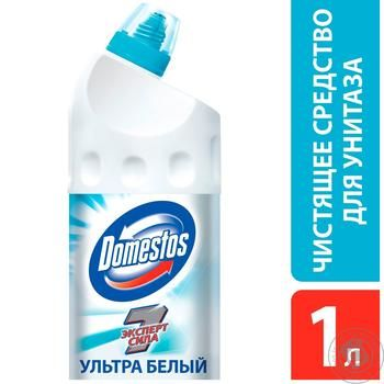 Domestos Expert force 7 Toilet bowl Ultra white 1l - buy, prices for Novus - image 2