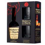 Maker's Mark Bourbon-Whiskey 45% 0,7 l +2 Glass