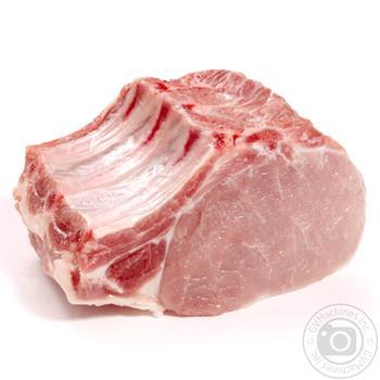 Корейка свиная на ребре охлажденная