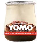 Йогурт Yomo кавовий з шоколадом і подрібненими какао-бобами 150г