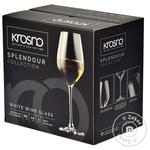 Glass Krosno glass for wine 6pcs 200ml Poland