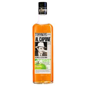 Напиток Аль Капоне алкогольный выдержан 40% 0,5л - купить, цены на Ашан - фото 2